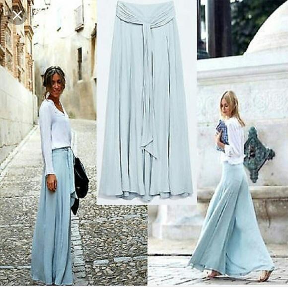 d0a15c98 {Zara} Extra Wide Leg Palazzo Pants. NWT